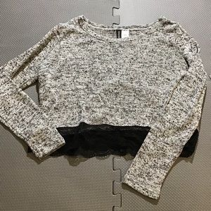 H&M Women's Crop Sweater